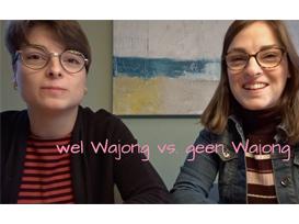 Vlog Fenna en tweelingzus Demi:  wel of geen Wajong