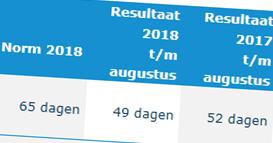 Resultaten ingekochte re‑integratiedienstverlening 2018